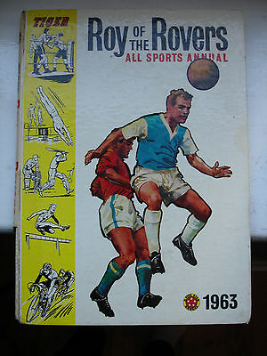 Roy of the Rovers All Sports Annual 1963
