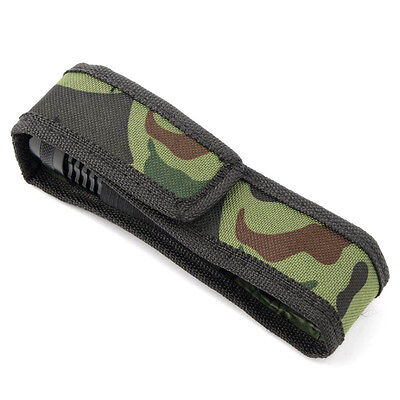 Camo Holster Case Bag Pouch Protector For Flashlight Torch Lamp Oilproof Sp