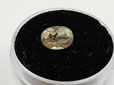 Natural earth mined Diaspore, 1.83ct Oval