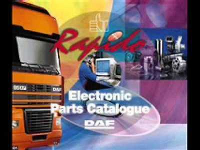 Daf Rapido 05 2015 For Daf Truck Epc Electronic Parts Catalogue
