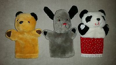 Sooty Sweepa and Soo Puppets 80s TV Classic Sue toy