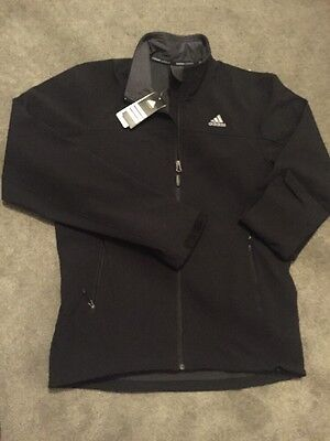 Adidas Performance Climaproof Wind proof Water Resistant Softshell Jacket Large
