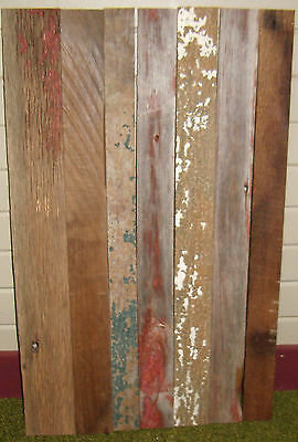 Antique Rustic Wall Art Barn Wood Siding Weathered Old Board Reclaimed Lumber