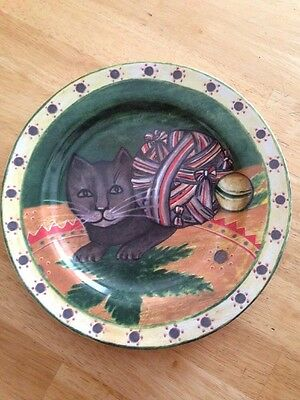Collectible Country Kitten Plate 1995 By Gear Excellent Condition