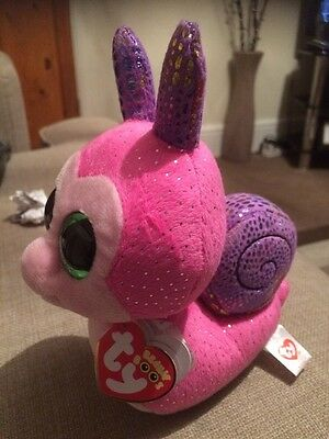 Beanie Boo Scooter Snail Sparkly