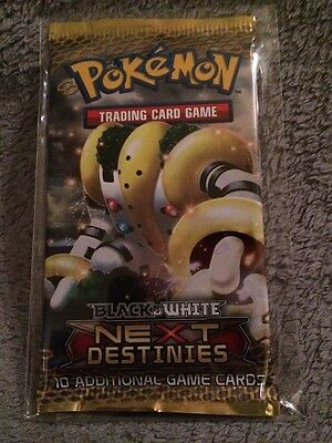 Black And White Next Destinies Pokemon Booster Pack Mint
