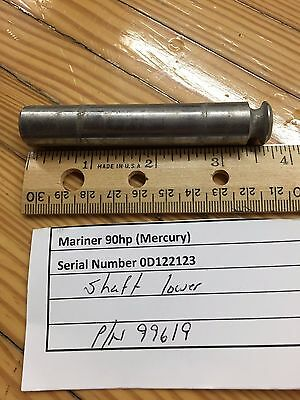Lower Shaft 99619 Mariner Mercury Outboard 70-200 Hp Lower Shaft 1984-1998