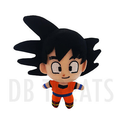 "Dragonball Z Goku DBZ 5"" Hanging Plush by Great Eastern NEW! FREE SHIPPING"