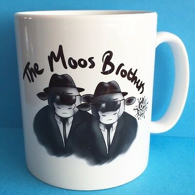 Unique Limited Edition Moos Brothers Mug (For Blues Brothers Fans!)
