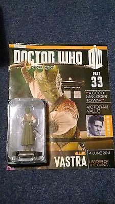 Eaglemoss doctor who figurine collection - Issue 33: MADAME VASTRA