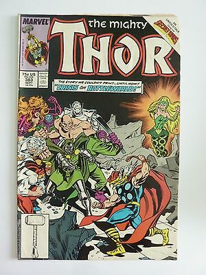 Marvel - The Mighty Thor September 1987 No. 383