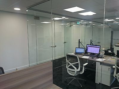 Toughened Glass Partitioning