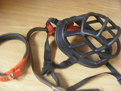 BASKERVILLE DOG MUZZLE AND COLLAR size 6
