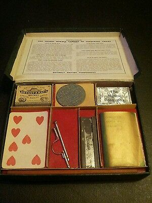 Rare 1940s Ernest Sewell Cabinet of Conjuring Tricks (No 1 Size)