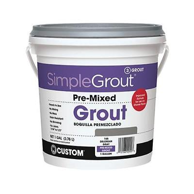 Custom Bldg Products PMG1221-2 Gallon Linen Pre-Mixed Grout - Quantity 1