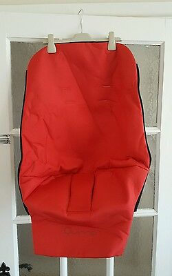 Quinny Buzz Pushchair Seat Cover Insert Free Postage - Red BRAND NEW