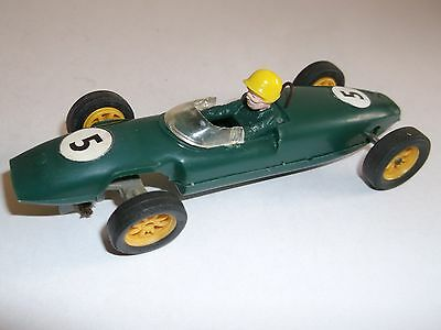 """Tri-ang  Scalextric , C/67 LOTUS """" GREEN """" Type 2 , No Air Vents , ENGLAND ."""