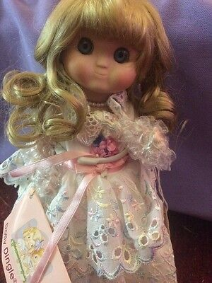 Adorable Dolly Dingle Limited Edition Peach Dumpling Doll By Goebel