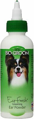 Bio Groom Ear Fresh Medicated Ear Powder 24 Grams Dog Dry Ears Free Ship Usa