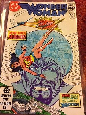 Wonder Woman Comic - Issue 295 Sept 1982 DC