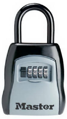 Master Lock 5400D Key Storage Shackle Lock, Resettable, Holds 5