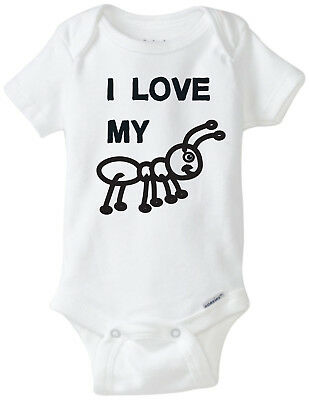 I Love My Aunt - Funny Baby Onesies Infant Newborn Boy Girl Clothes
