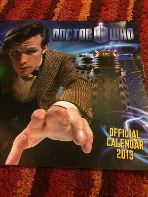 Doctor Who Calendar 2013 (Matt Smith) Daleks/weeping Angels