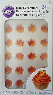 Wilton Royal Icing Decorations - Maple Leaves
