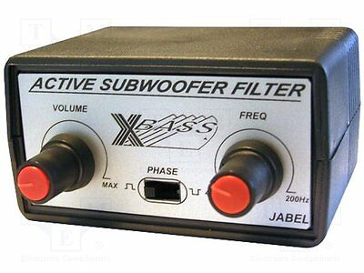1 pc Circuit; subwoofer active filter