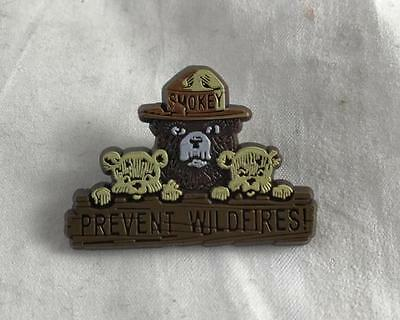 NEW Smokey The Bear Prevent Wildfires Pin Button