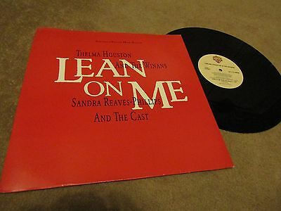 """THELMA HOUSTON AND THE WINANS/SANDRA REAVES-PHILLIPS AN Lean On Me 12"""" VINYL"""