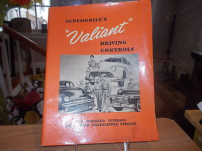 Original 1926 Oldsmobile VALIANT Driving Controls for Disabled Vets Catalog