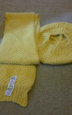 mini boden scarf and hat set size small