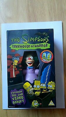 the simpsons treehouse of horror ( exclusive toy and video boxset- VHS)