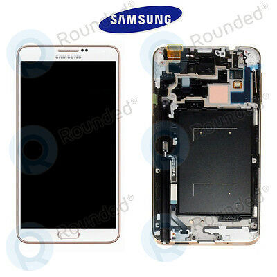 Display Lcd Touch Screen Originale Samsung Galaxy Note 3 N9005 Bianco Oro