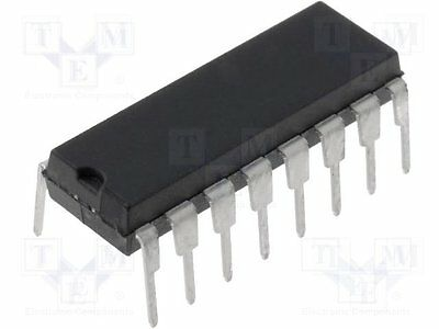 1 pc Driver; LED controller; 3÷120mA; Channels:8; Outputs:8; 20V; DIP16