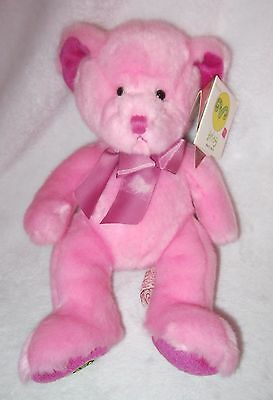 NEW Russ Pink ARIES Astrology Teddy Bear Plush Collectible MWMT
