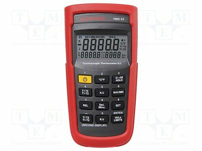 1 pc Temperature meter; LCD 5 digits (99999), with a backlit