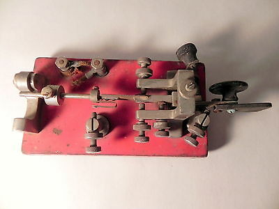 Vintage Vibroplex Double Lever Telegraph Speed Key