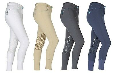 Shires Sprt Mayfair LADIES Horse Riding Breeches Silicone Knees ALL SIZES & COLO