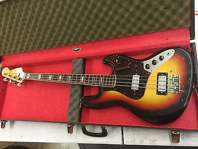 Vintage Early 80's MIJ Four String Bass One Owner 1980s with OHSC Ships FREE!