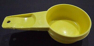 Tupperware #766   ¼ Cup Replacement Parts      Daffodil Yellow,    FREE SHIppINg