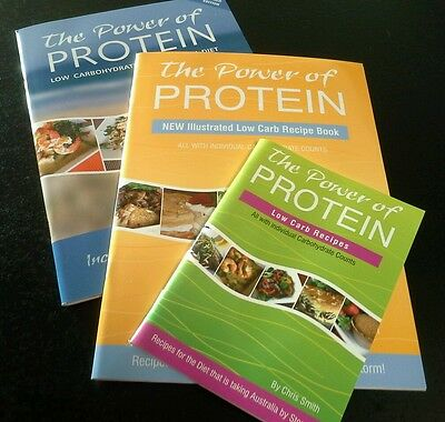 The Power of Protein Low Carb High Protein Diet Book - Recipe cooking kitchen