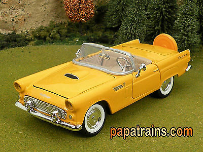 Die Cast 1956 Ford Thunderbird Convertible G Scale 1:24 by Showcasts 56 T Bird