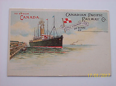 Canadian Pacific Rly Official,t.s. Lake Manitoba.