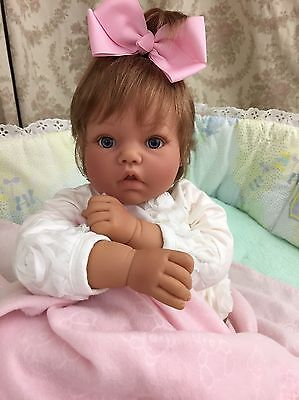 "Lee Middleton Newborn Doll ""You Beautiful Baby You!"""