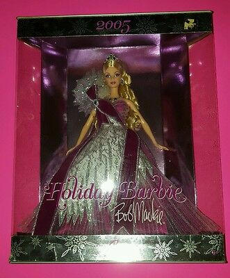 Barbie lot of 2: 2005 Bob Mackie & 2000 Special Millennium