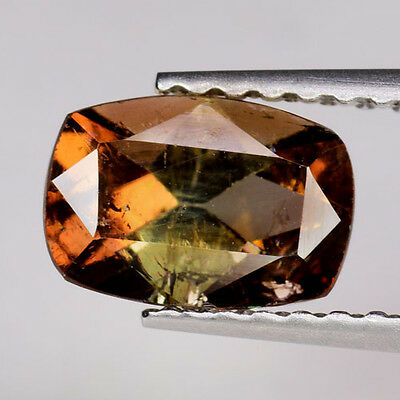 0.92Ct GORGEOUS Gem! Natural Imperial Champagne Amazing Color Change AXINITE LG2