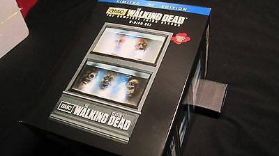 New! The Walking Dead: Season 3 Limited Edition Collectible 5-Disc Blu-ray Set!
