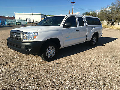 2010 Toyota Tacoma Base Extended Cab Pickup 4-Door SR5 2010 Toyota Tacoma SR5 Access Cab Bought New In Tucson Arizona 9300 Miles
